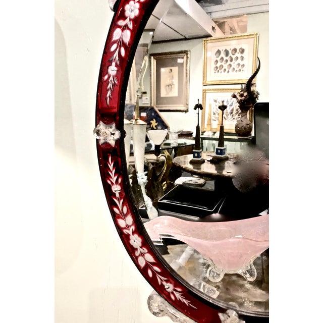 Art Deco Art Deco Venetian Mirrors - a Pair For Sale - Image 3 of 10