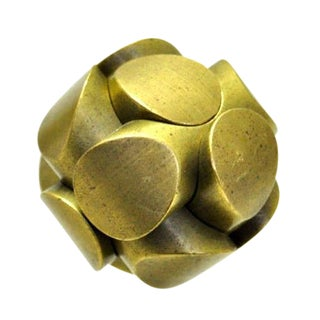 Charles O. Perry Brass Ball Puzzle For Sale