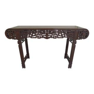 20th Century Elmwood Asian Altar Table For Sale