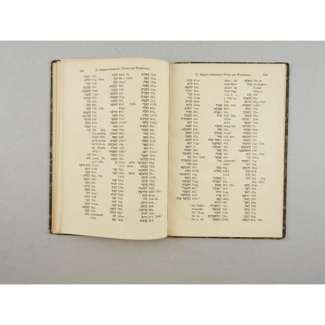 1902 Hebrew Grammar in German Book - Image 5 of 5