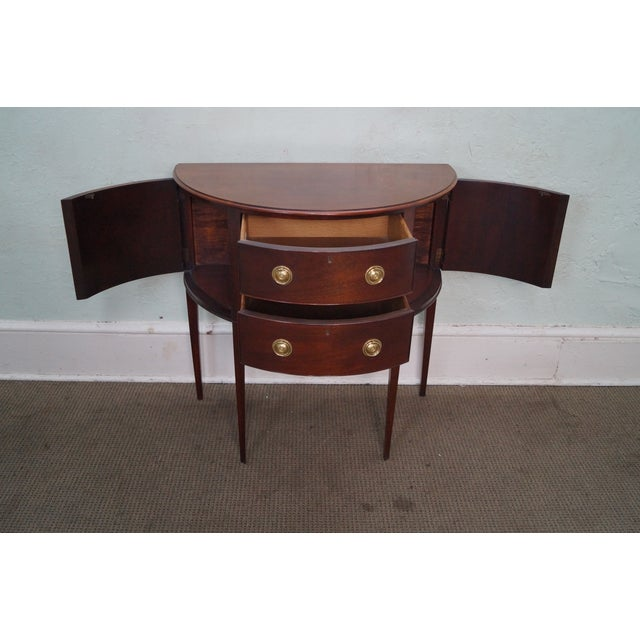 Baker Furniture Demilune Console - Image 2 of 10