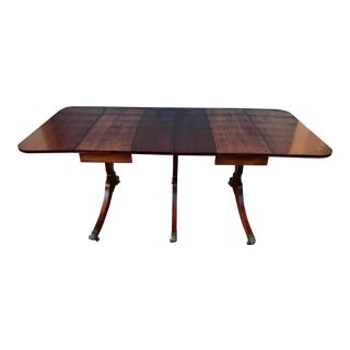Late 19th Century Duncan Phyfe Drop Leaf Table For Sale
