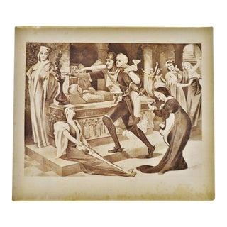 """Robert the Devil Opera"" Henry T Cariss Photogravure For Sale"