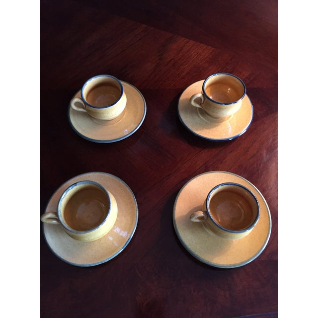 Antique Demitasse Cups & Saucers - 8 Pieces - Image 2 of 3