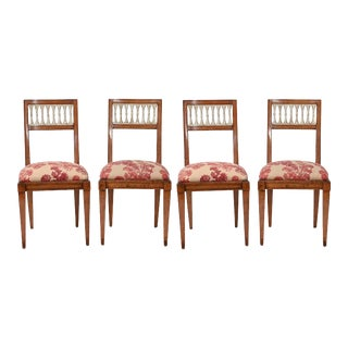 Dining Side Chairs, Set 4 For Sale