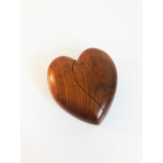 Vintage Wood Heart Box Preview