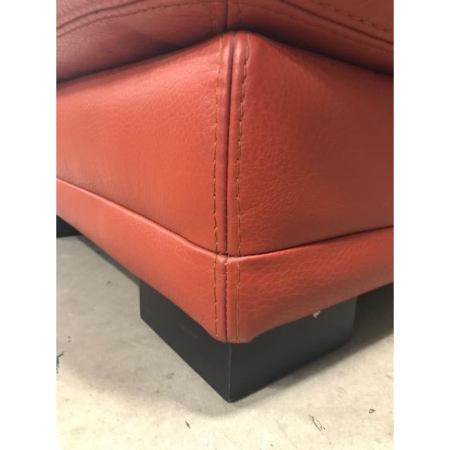 2000 - 2009 Roche Bobois Tomato Red Sleeper Sofa For Sale - Image 5 of 11