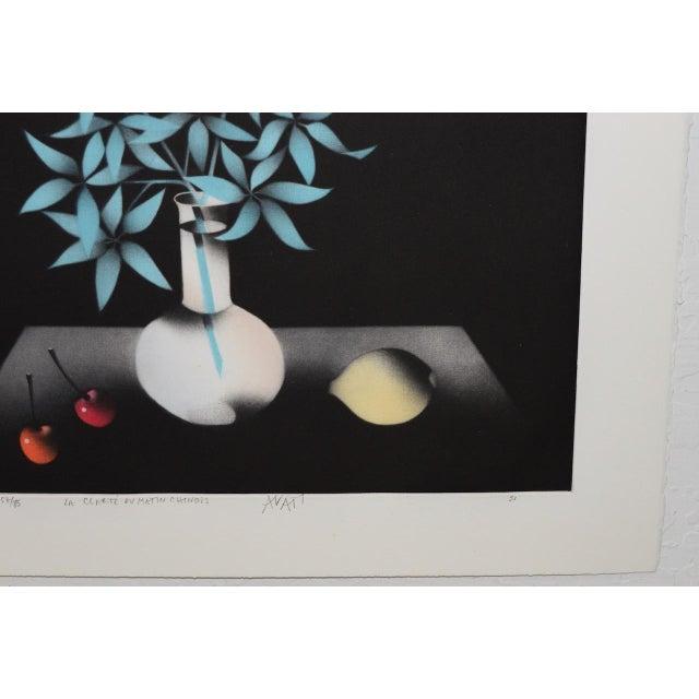 "Late 20th Century Mario Avati ""La Clarté Du Matin Chinois"" Mezzotint C.1991 For Sale - Image 5 of 8"