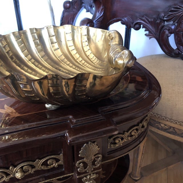 1970s Vintage Italian Shell Bowl For Sale - Image 4 of 9