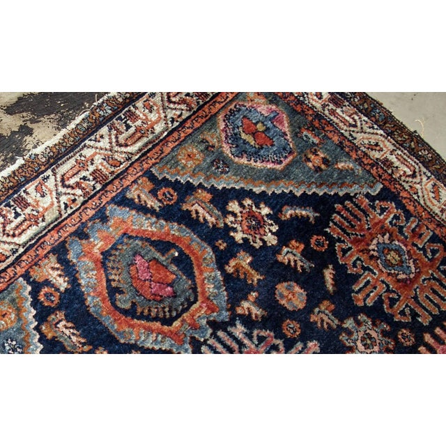 Traditional 1910s, Handmade Antique Persian Malayer Rug 4.1' X 6.3' For Sale - Image 3 of 11