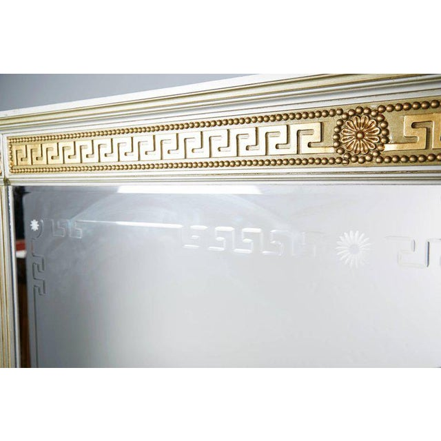 Greek Revival Versace Style Modernist Server With Mirror, Circa 1970 For Sale - Image 9 of 10