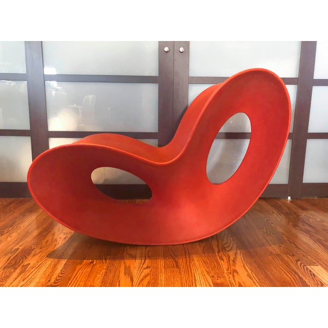 Ron Arad Modern Italian Magis Voido Rocking Chairs- A Pair For Sale - Image 4 of 5