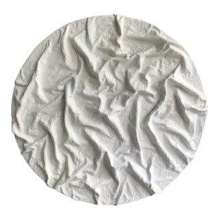'Ridges' Minimalist Plaster Painting For Sale