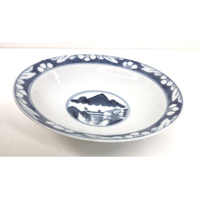 Antique Chinese Blue White Rice Bowl - Image 3 of 10
