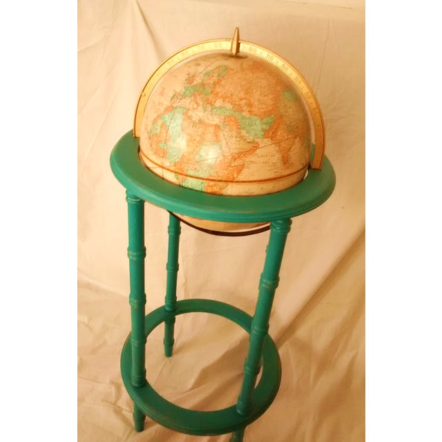 MCM Crams Imperial World Globe on Wooden Stand - Image 6 of 10