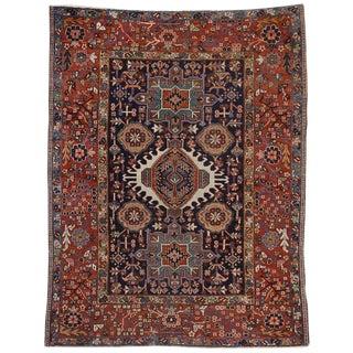 20th Century Persian Heriz Rug For Sale