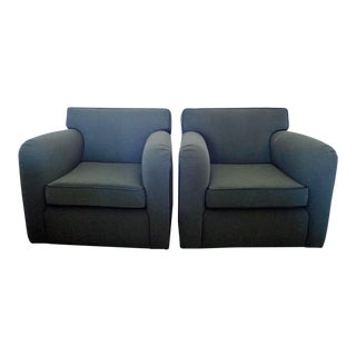 RJones & Associates Metro Series 3900 Custom Swivel Chairs - A Pair For Sale