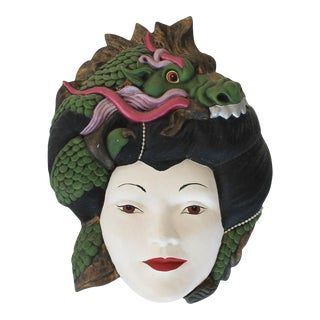 Female Asian Wall Decor For Sale
