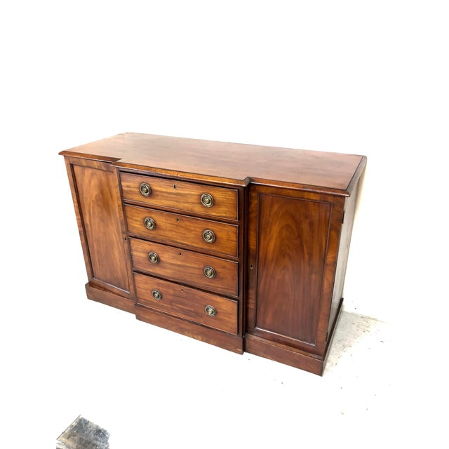 Mid 19th Century 19th Century Traditional Walnut Buffet Credenza For Sale - Image 5 of 5