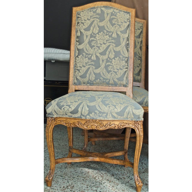 Traditional 1990s Vintage Fairfield Dining Chairs - Set of 6 For Sale - Image 3 of 12