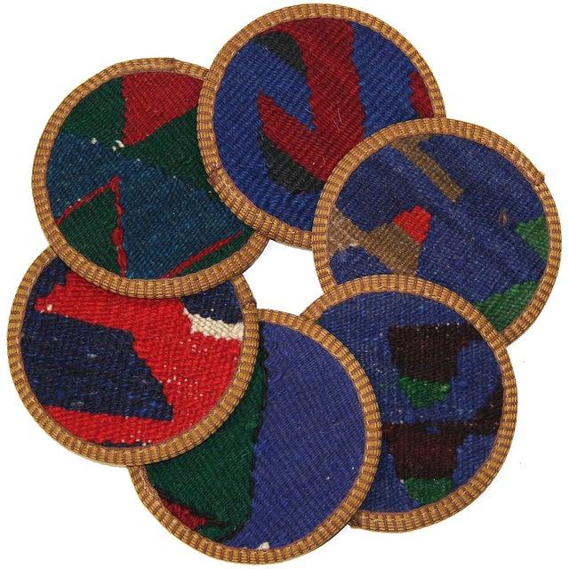 Kilim Coasters, Akhisar - 6 - Image 1 of 2