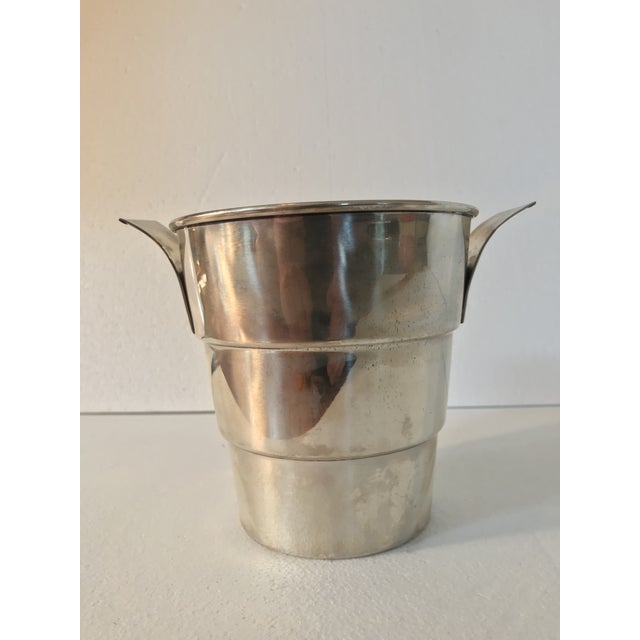 Sterling 925 Wine Cooler Ice Bucket For Sale In Los Angeles - Image 6 of 11