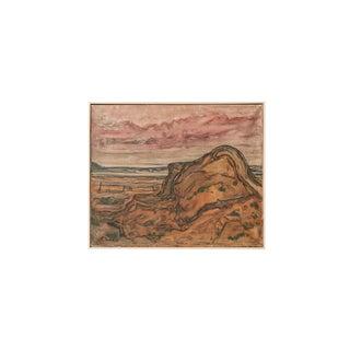 """""""Sandberg Gel"""", Oil Painting by Ferdinand Wahl 1951"""