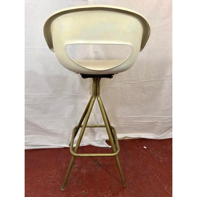 Metal Vintage Mid Century Barstools - Set of 4 For Sale - Image 7 of 10