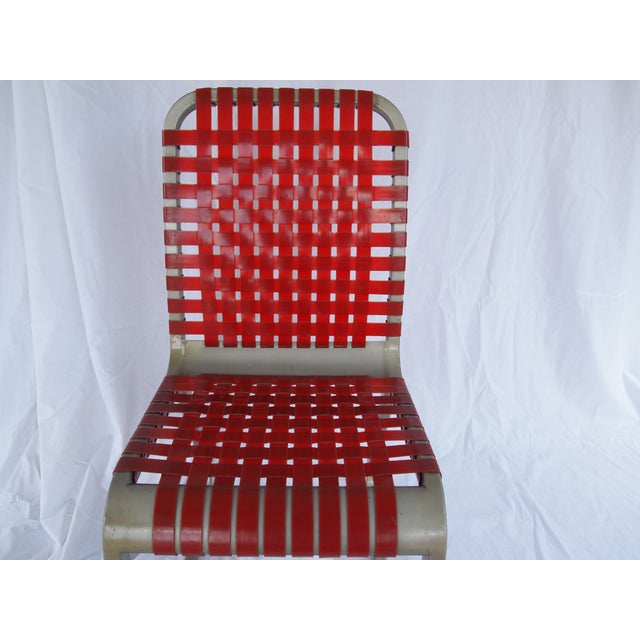 Mid-Century Aluminum Side Chairs - Set of 6 - Image 5 of 5