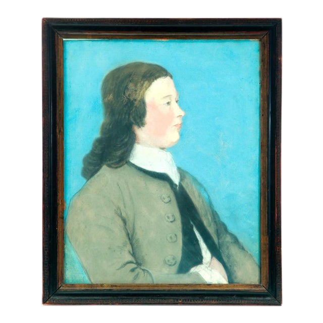 Circa 1790 Portrait of a Young Man - Image 1 of 5