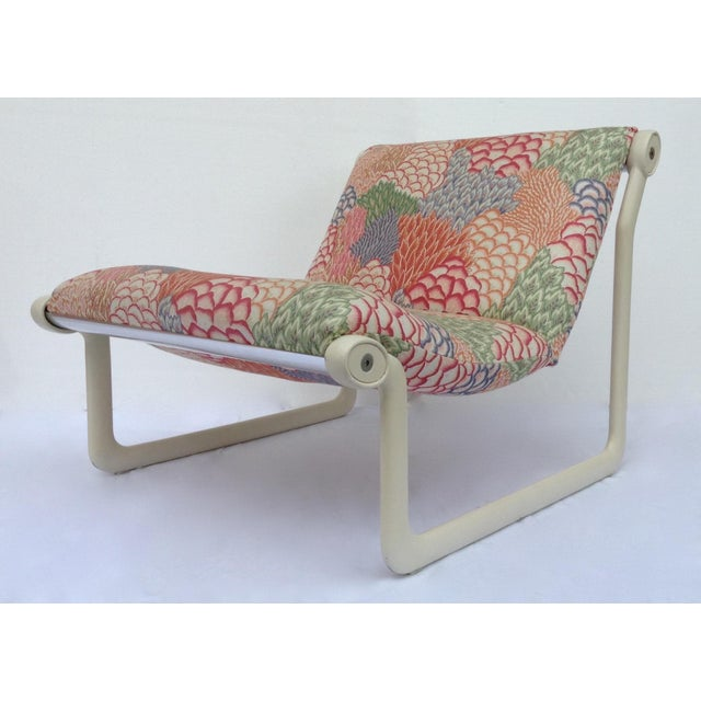 1970s Knoll Sling Lounge Chairs by Hannah & Morrison - A Pair - Image 3 of 11