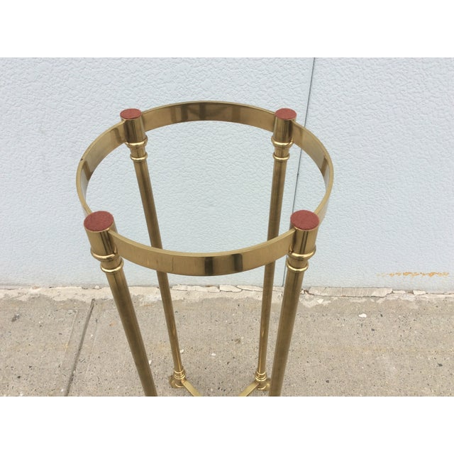 La Barge Italian Brass Pedestal - Image 9 of 11