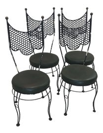 Image of Gothic Revival Dining Chairs