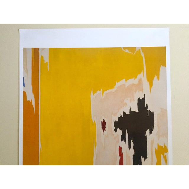 """This Clyfford Still Abstract Expressionist lithograph print poster """" PH - 1074 """" 1956, is a very special and unique piece..."""
