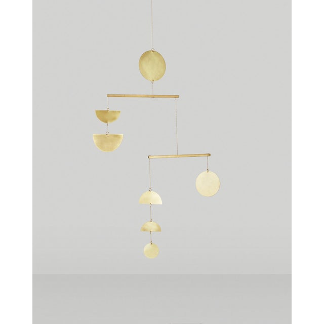 Articulating Brass Mobile - Image 2 of 5