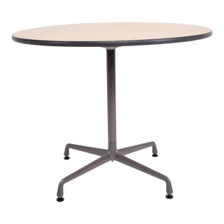 Charles Eames Aluminum Group Office Cafe Bistro Table Herman Miller 1960s For Sale