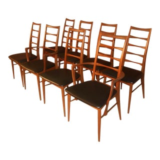 Danish Niels Koefoed for Koefoeds Hornslet Lis Chairs For Sale