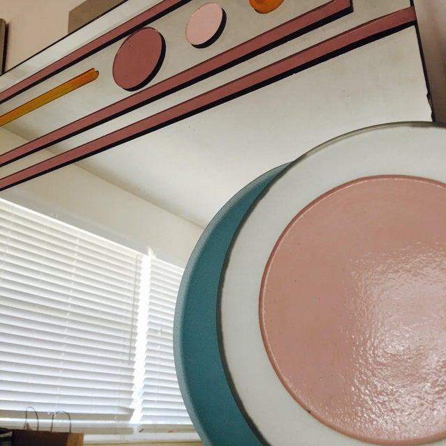 1980s Vintage Pop Art Style Mirror For Sale In Atlanta - Image 6 of 8