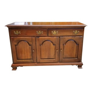 1950s Traditional Harden Cherry Credenza For Sale
