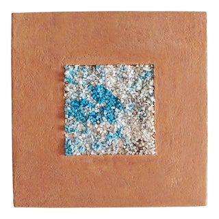"""Modern Micromosaic Venetian Smalti Picture """"Clear Blue Sky"""" For Sale"""