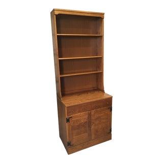 Ethan Allen 2-Piece Bookcase Cabinet