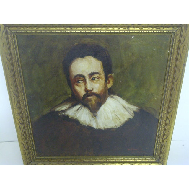 "Mediterranean ""Spanish Nobleman"" by William Newfield For Sale - Image 3 of 7"