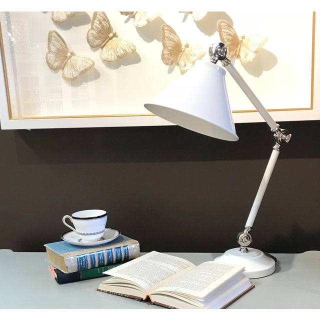 Styled from our Provence collection, these mid-sized task lamps reflect typical designs of mid-century Europe and are...