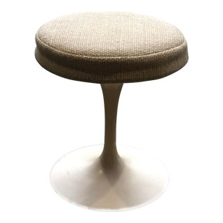1970's Vintage Knoll Saarinen Tulip Vanity Stool For Sale