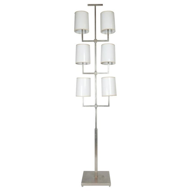 Very Rare Limited Production Tommi Parzinger Floor Lamp for Lightolier For Sale - Image 12 of 12