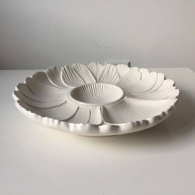 1970s 2 Italian Faience Artichoke Plates For Sale - Image 5 of 12