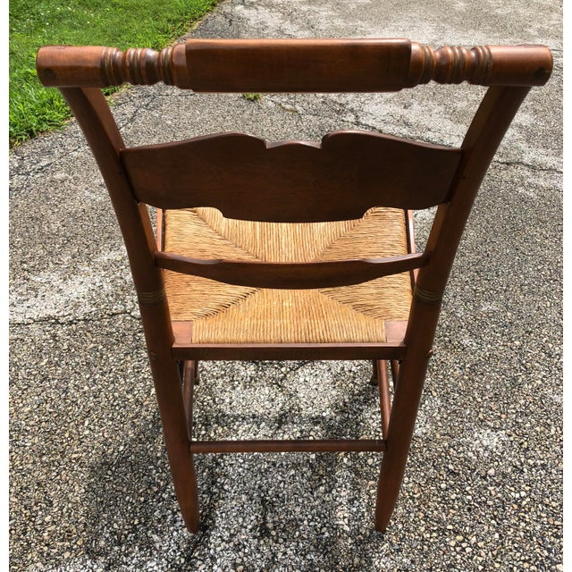 Mid 20th Century Vintage Mid-Century Ethan Allen L. Hitchcock Eagle Side Chair For Sale - Image 5 of 12
