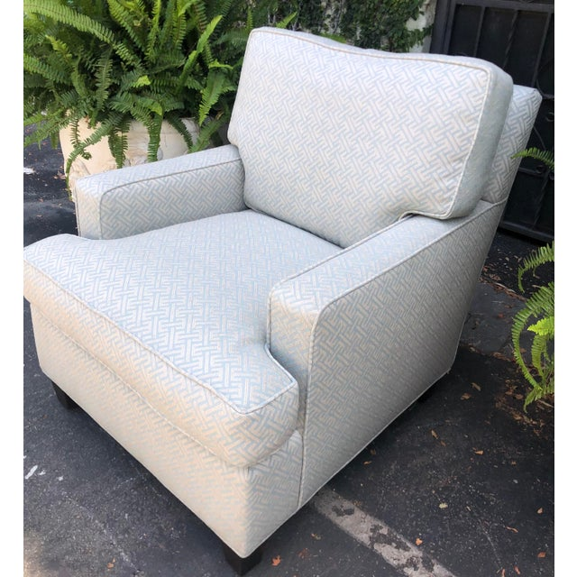 Art Deco Fully Upholstered Designer Club Chair by A. Rudin