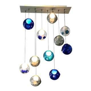 Bocci 28 Series Blown Glass Waterfall Pendant Light