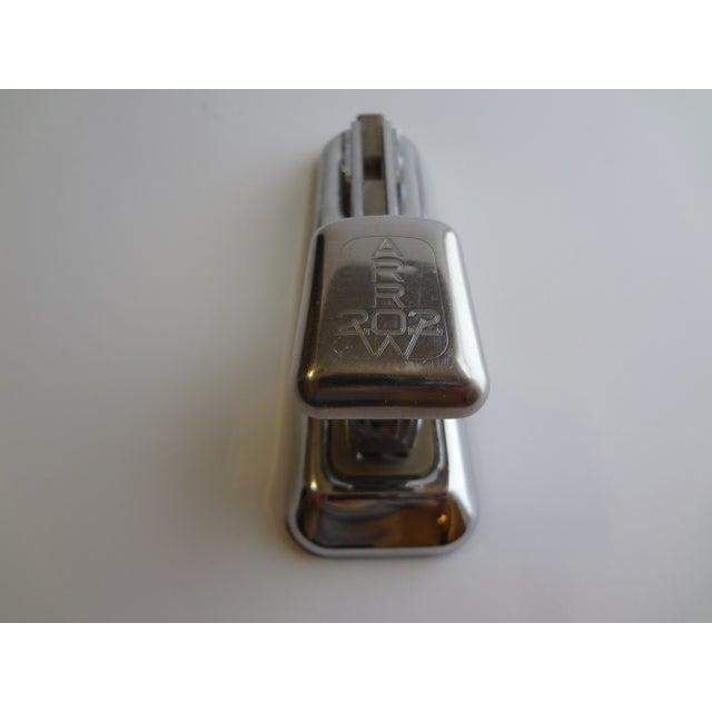 Vintage Arrow Chrome Desk Stapler For Sale - Image 5 of 5